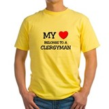 My Heart Belongs To A CLERGYMAN T
