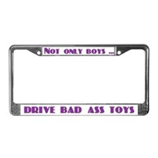 Bad Ass Toys License Plate Frame