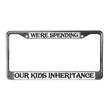 Our Kids Inheritance License Plate Frame