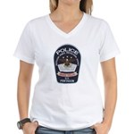 Pentagon Police Women's V-Neck T-Shirt