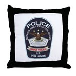Pentagon Police Throw Pillow