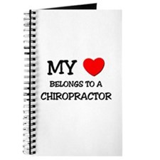 My Heart Belongs To A CHIROPRACTOR Journal