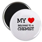 My Heart Belongs To A CHEMIST Magnet