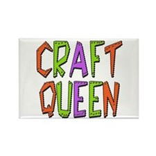 Craft Queen Rectangle Magnet (100 pack)