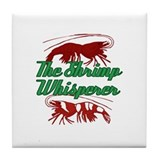 Shrimp Whisperer Tile Coaster