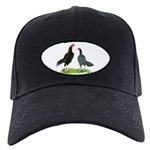 Thailand Gamefowl Black Cap