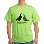 Thailand Gamefowl Green T-Shirt