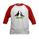 Thailand Gamefowl Kids Baseball Jersey