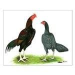 Thailand Gamefowl Small Poster