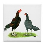 Thailand Gamefowl Tile Coaster