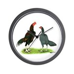 Thailand Gamefowl Wall Clock