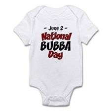 National Bubba Day Infant Bodysuit