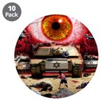 "Israel Eye 3.5"" Button (10 pack)"
