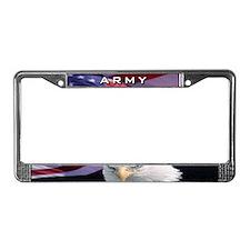 Army & Eagle - License Plate Frame
