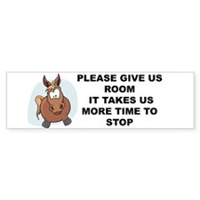 Pugpockets.com- Horse Car Sticker