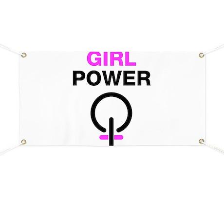 Girl Power Symbol Girl power bannerWoman Power Symbol