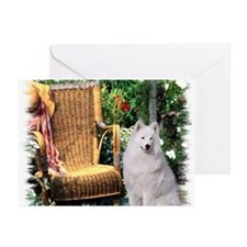Samoyed Art Greeting Cards (Pk of 20)