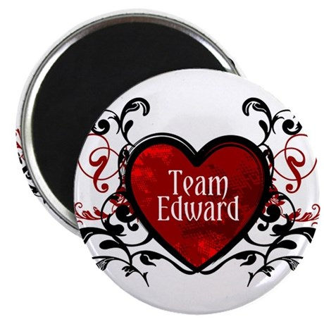 Team Edward heart Magnet