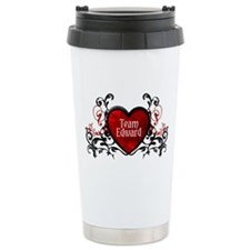 Team Edward heart Ceramic Travel Mug