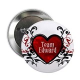 "Team Edward heart 2.25"" Button (10 pack)"