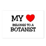 My Heart Belongs To A BOTANIST Postcards (Package