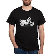 Motorcycle Black T-Shirt