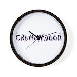 Crummywood! Wall Clock