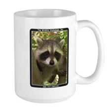 Mug with Raccoon