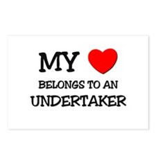 My Heart Belongs To An UNDERTAKER Postcards (Packa