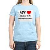 My Heart Belongs To An OTOLARYNGOLOGIST T-Shirt