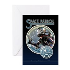 Space Patrol Greeting Cards (Pk of 10)