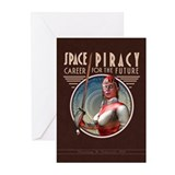 Space Piracy Greeting Cards (Pk of 10)