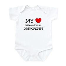 My Heart Belongs To An ORTHOPEDIST Infant Bodysuit