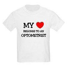 My Heart Belongs To An OPTOMETRIST T-Shirt