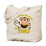 Little Monkey 2nd Birthday Boy Tote Bag