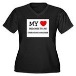 My Heart Belongs To An OPERATIONS MANAGER Women's
