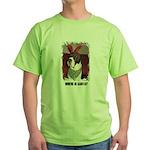 WHERES SANTA? GREAT DANE  Green T-Shirt