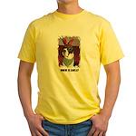 WHERES SANTA? GREAT DANE  Yellow T-Shirt