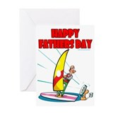 Un-extreme Sports Dad Greeting Card
