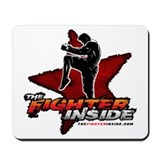 TheFighterInside.com Mousepad