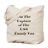 USS Family Van Tote Bag