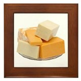 Some Cheese On Your Framed Tile