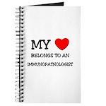 My Heart Belongs To An IMMUNOPATHOLOGIST Journal