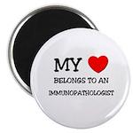 My Heart Belongs To An IMMUNOPATHOLOGIST Magnet
