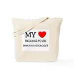 My Heart Belongs To An IMMUNOPATHOLOGIST Tote Bag