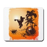 AIRBORN SUMMER Mousepad