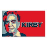The WHO IS JACK KIRBY Decal
