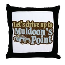 Muldoon's Point Throw Pillow