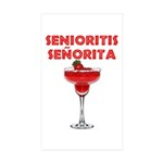Senioritis Seorita Rectangle Sticker 10 pk)