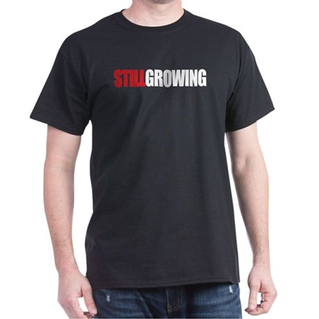 STILL GROWING Black T-Shirt